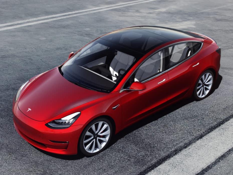 Europa se rinde al Tesla Model 3: Ya es el eléctrico más vendido