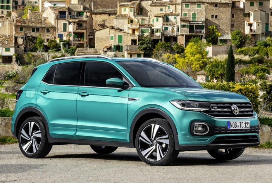 El Volkswagen T-Cross recibe el motor diésel