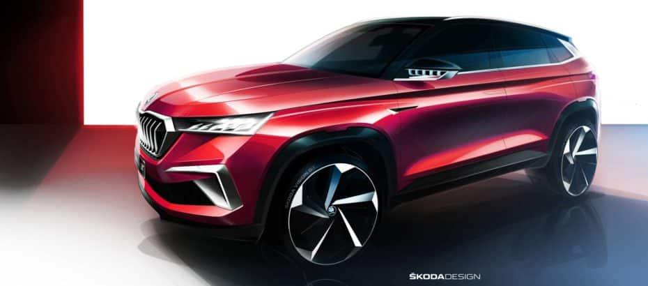 Škoda Vision GT: La firma checa nos sugiere la llegada de un nuevo SUV de corte deportivo