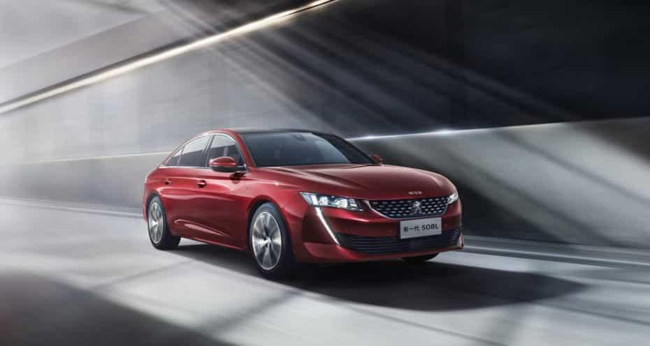 Primeros datos del Peugeot 508L híbrido: Se estrena en China