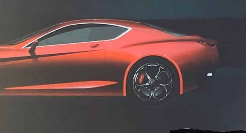 ¡Filtrado! ¿Estamos ante la primera imagen del atractivo Alfa Romeo GTV 2022?