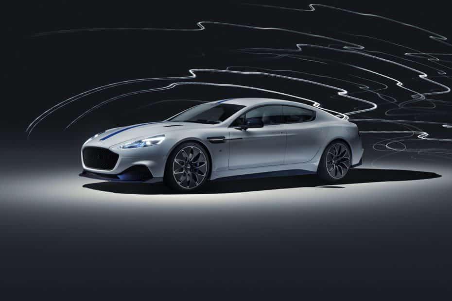 Aston Martin Rapid E: Un eléctrico espectacular, generoso en prestaciones y justo en autonomía