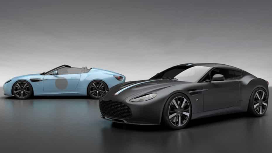 El Aston Martin Vantage V12 Zagato resurge de sus cenizas a modo de edición especial