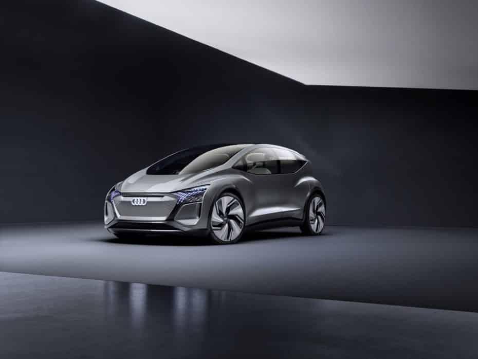 Audi AI:ME: El coche urbano del futuro es una reinterpretación del A2 cargado de tecnología