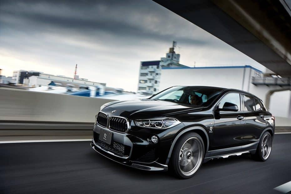 No verás un BMW X2 M por ahora, pero la apuesta de 3DDesign tiene muy buena pinta