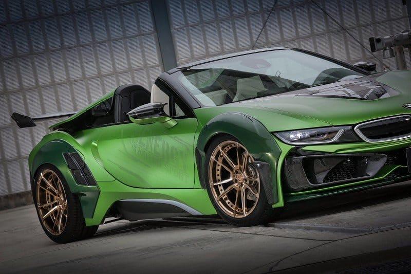 BMW i8 Roadster E.N.Army Edition: Solo con verlo, sobran las palabras…