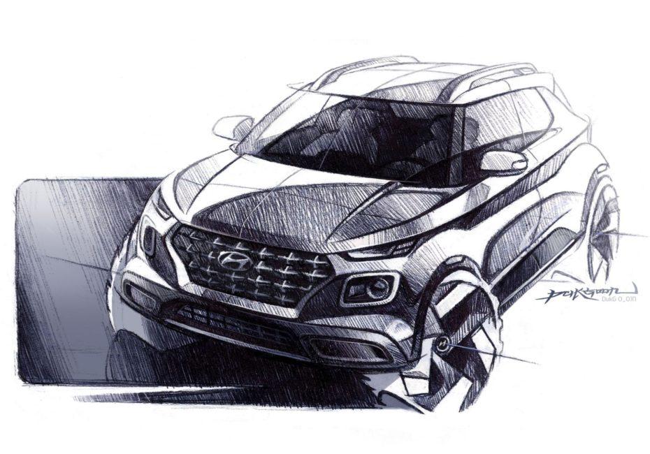 Primeros detalles e imágenes del Hyundai Venue: Un prometedor crossover de acceso a la gama