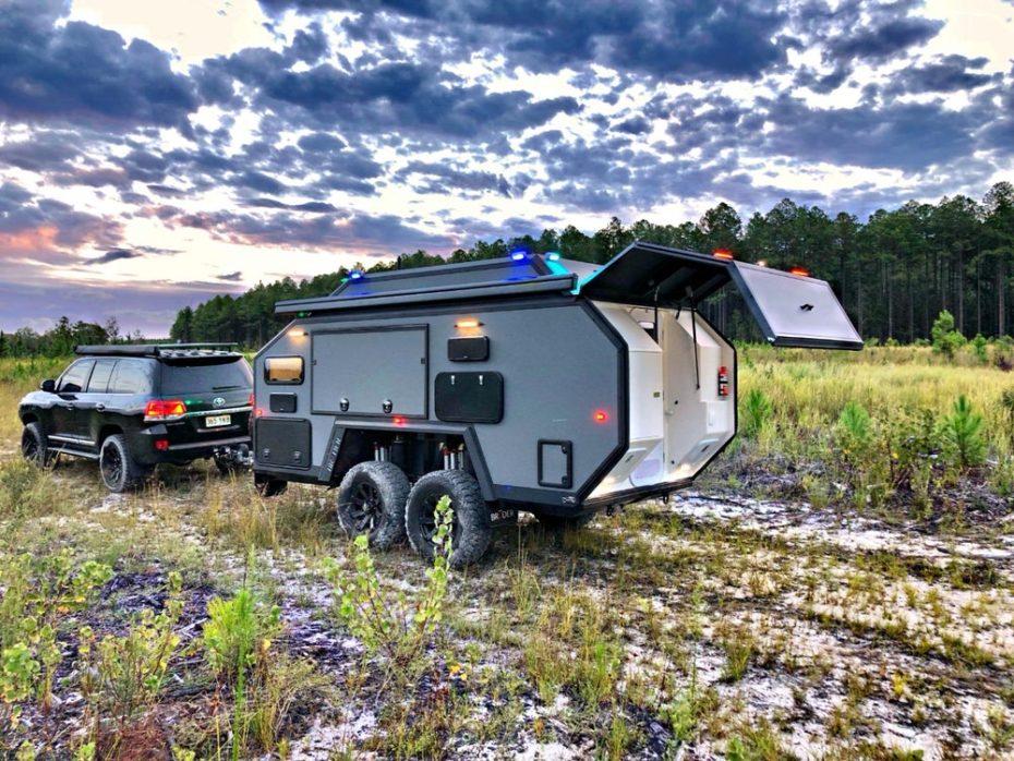 Bruder EXP-6 GT 2019: Cuando una caravana se convierte en un auténtico búnker de lujo