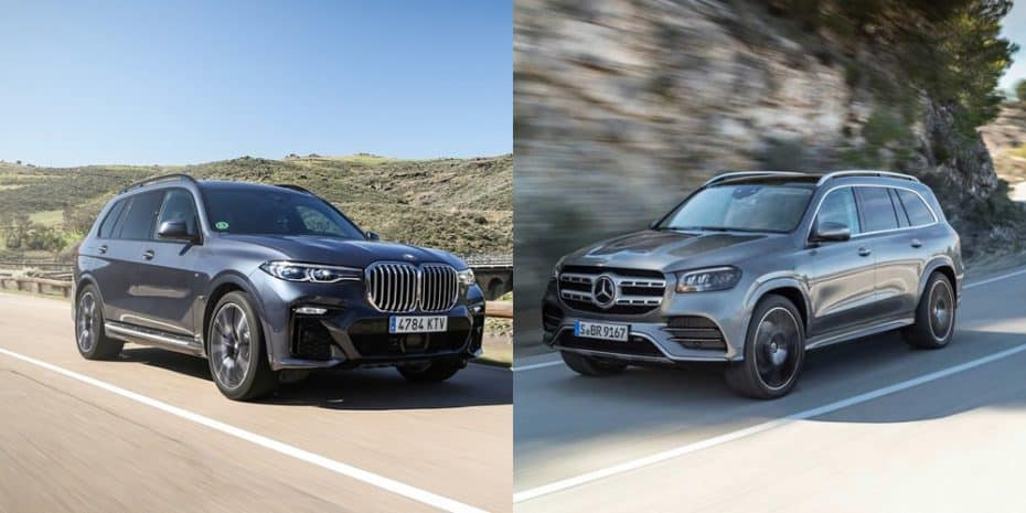 Comparación visual Mercedes-Benz GLS vs. BMW X7: ¿Tú con qué mastodonte te quedas?