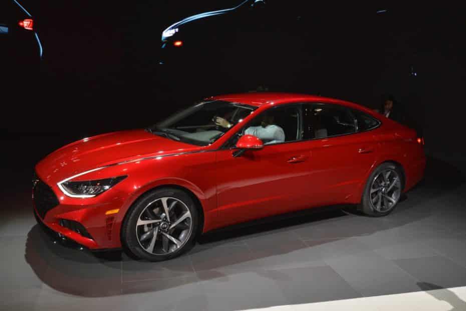 El nuevo Hyundai Sonata es imponente y deportivo en directo ¡Ojalá llegue a España!