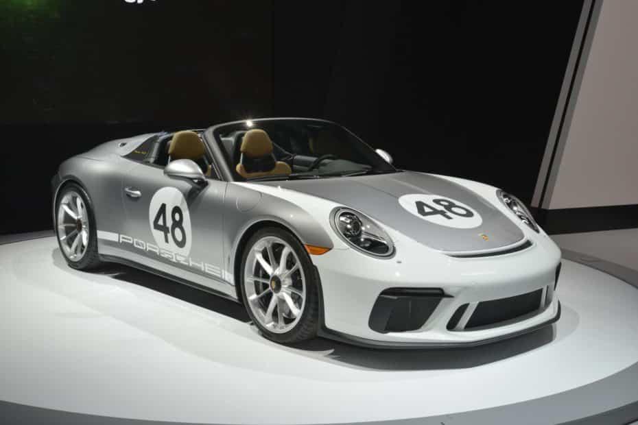 El Porsche 911 Speedster aún más atractivo en directo y con el Heritage Design Pack