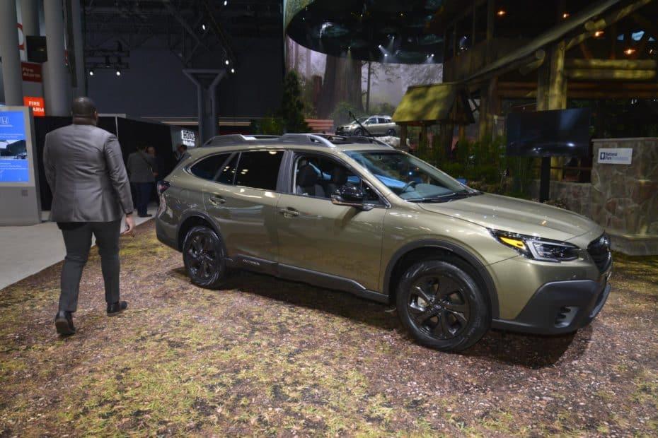 Así es el nuevo Subaru Outback 2020 en directo ¡Llega cargado de novedades!