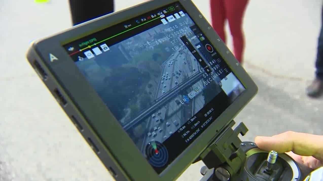 Los drones de la DGT supervisan el tráfico