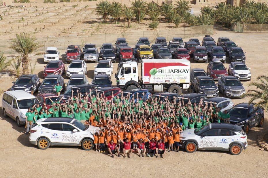 'El Desierto de los Niños' de Hyundai cumple 15 primaveras: ¿Qué les depara este año el desierto de Marruecos?