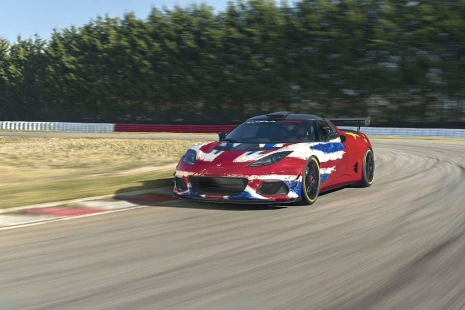 Lotus Evora GT4 Concept: 1200 kg de experiencia en la competición
