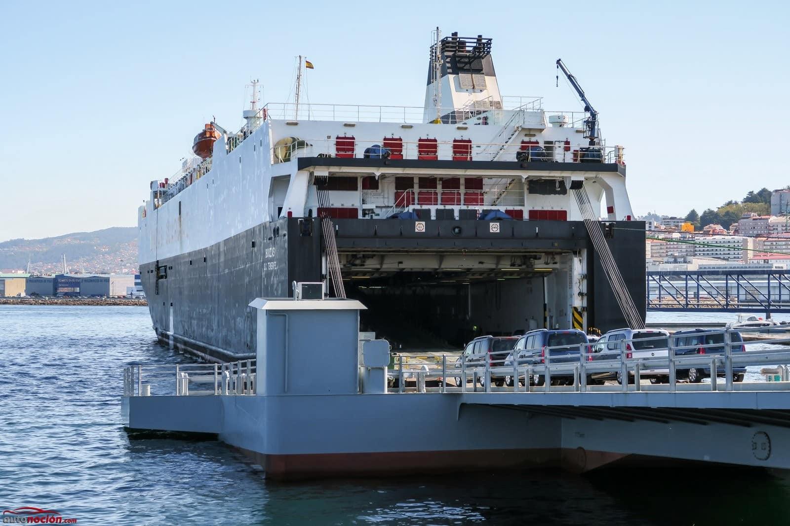 Puedes traer coche de Canarias en barco