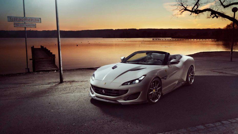 Casi 700 caballos y mucha fibra de carbono para el Ferrari Portofino de Novitec