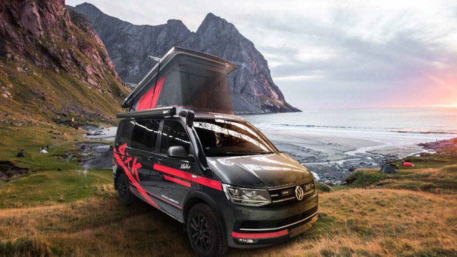 Klubber 4×4 T6 Red Edition: Una Volkswagen California para las aventuras 'off road' más extremas