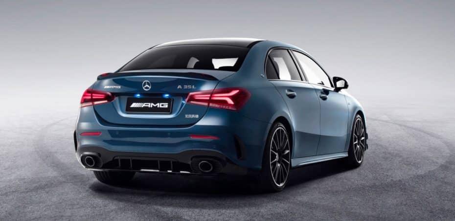 Mercedes-AMG A 35 L 4MATIC: Una batalla mayor para amoldarse a los gustos chinos