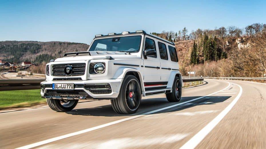 El Mercedes-AMG G63 de Lumma Design añade unos nada despreciables 65 CV y 100 Nm a la ecuación