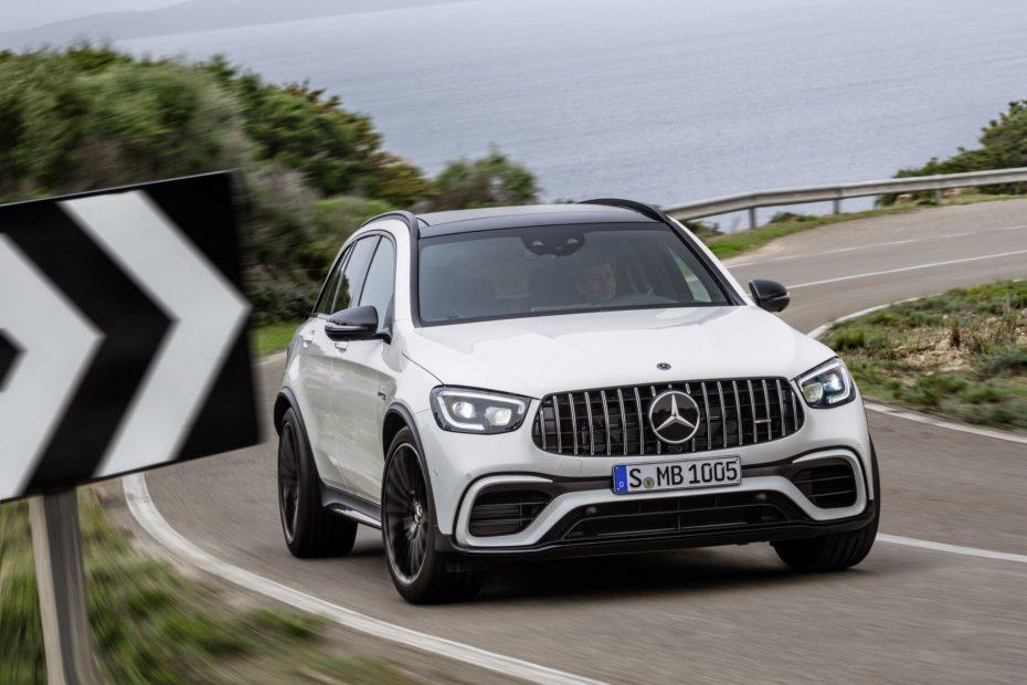 Mercedes-AMG GLC 63 y GLC 63 Coupé 2019: 476 CV en la versión normal y 510 CV en los 'S'