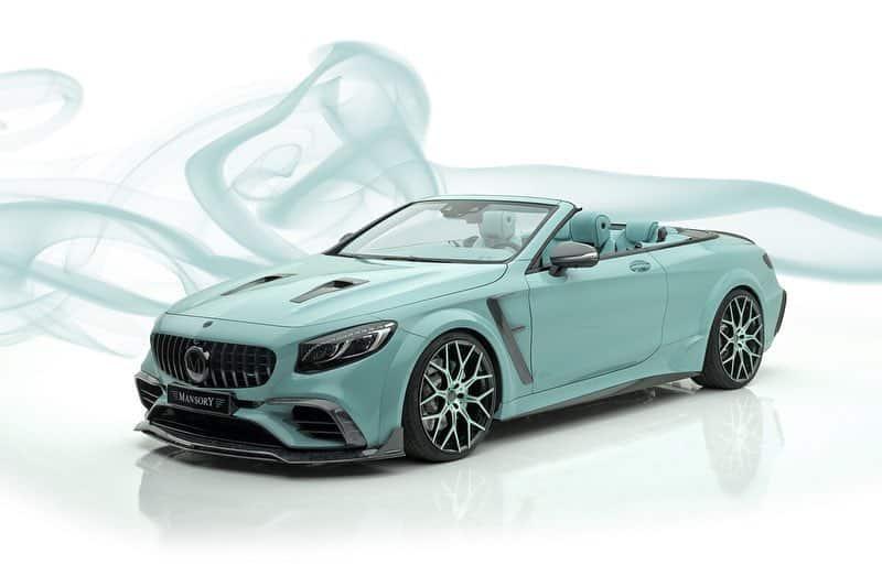 El Mercedes-AMG S63 Cabrio 'Apertus Edition' de Mansory es lo más hortera que verás hoy