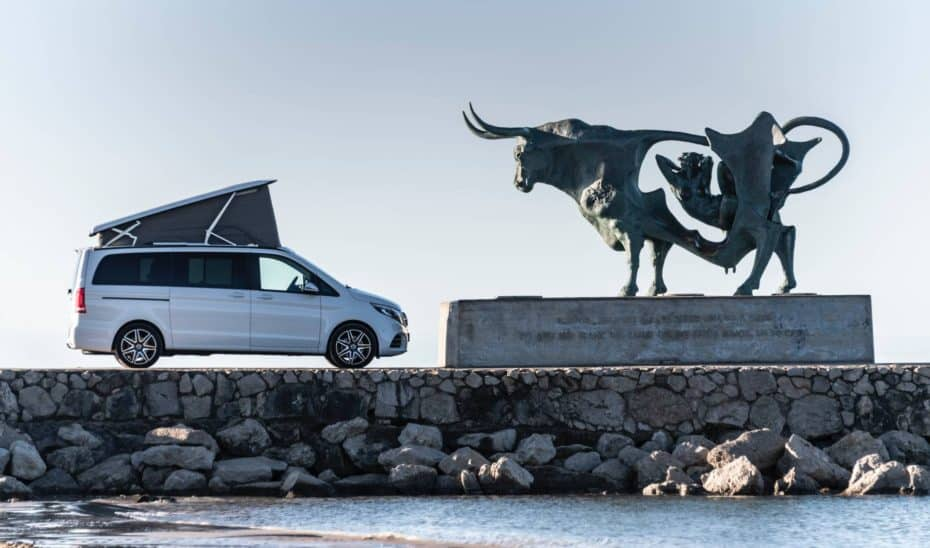 Todas las novedades del Mercedes-Benz Clase V 2019 y Marco Polo en esta mega galería de imágenes