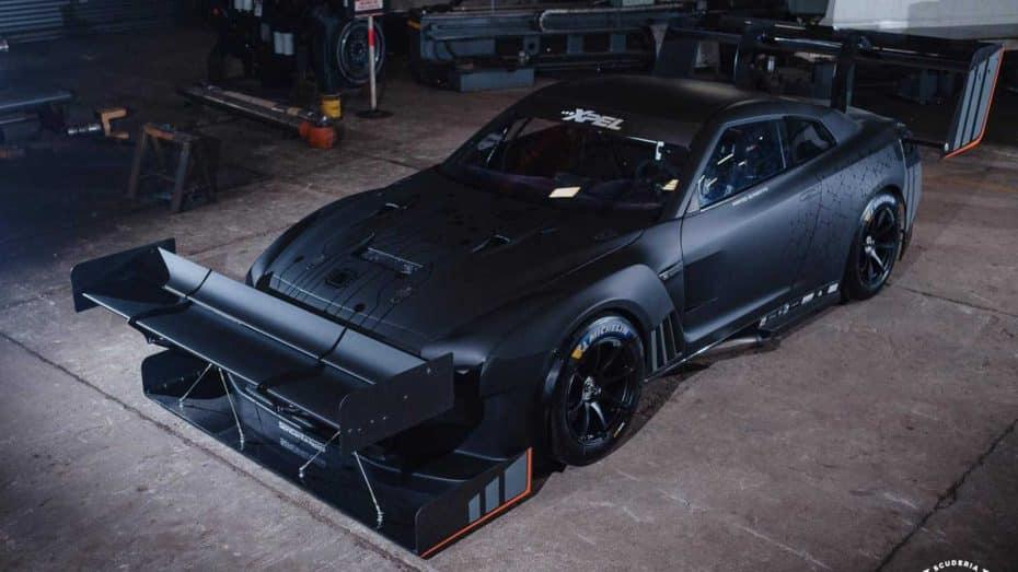 ¿Hay algo más salvaje que este Nissan GT-R de 2.200 CV con alerones masivos?