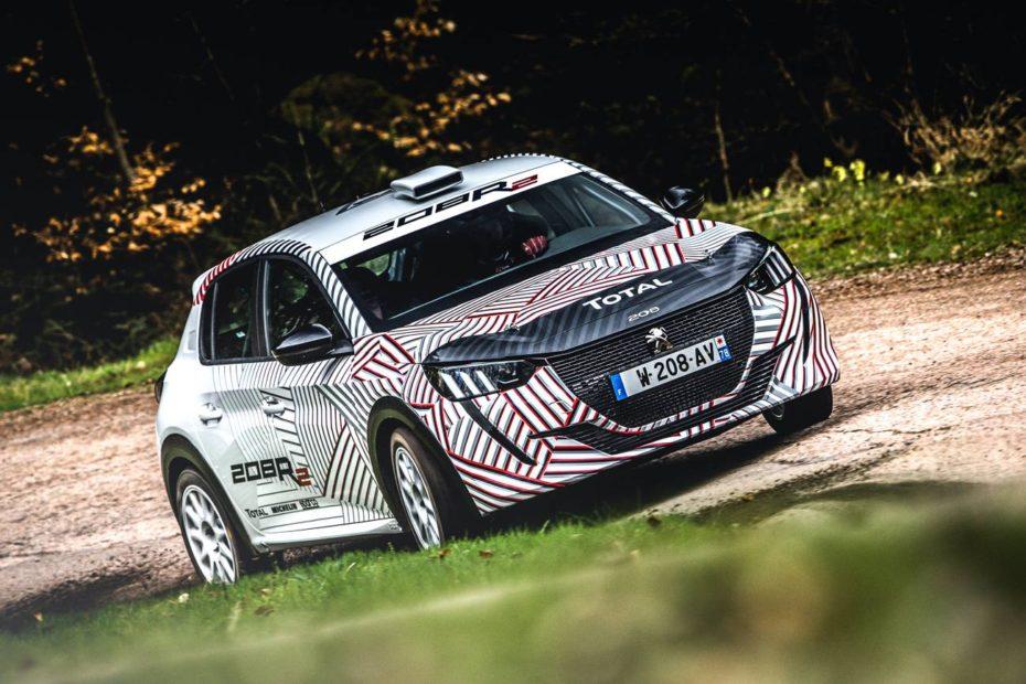 El Peugeot 208 R2 debutará en los rallies en 2020 con un motor tricilíndrico de 1.2 litros