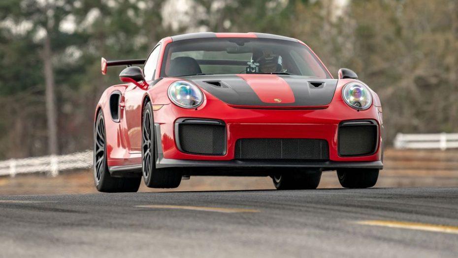 El Porsche 911 GT2 RS sigue acumulando récords de velocidad, ahora en el circuito de Road Atlanta
