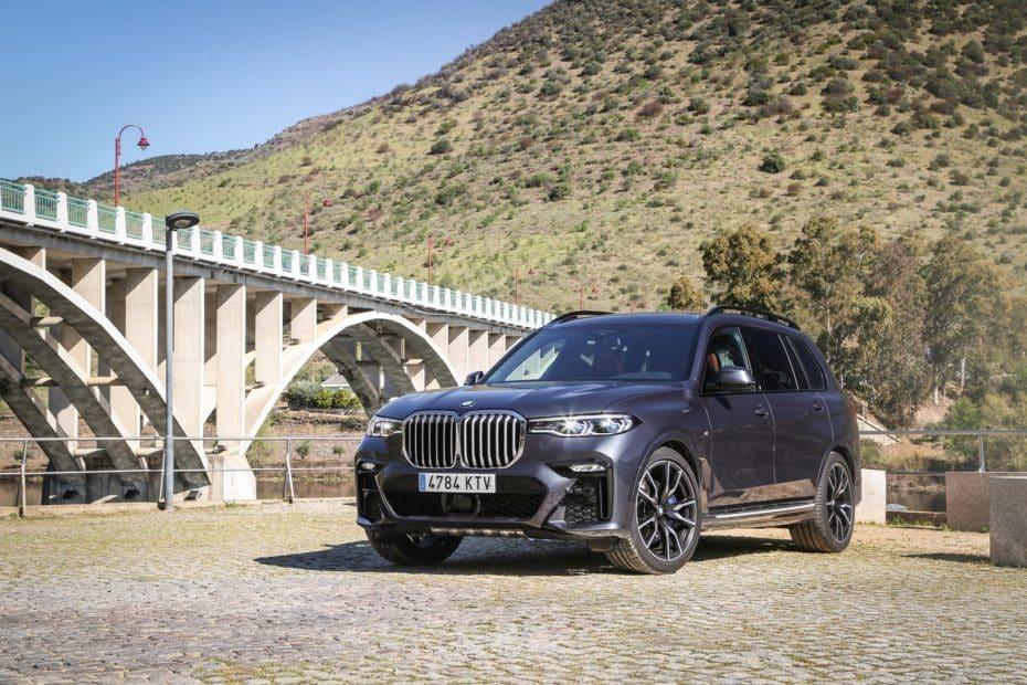 Prueba BMW X7 xDrive40i 340 CV 2019: Poderoso caballero es don dinero
