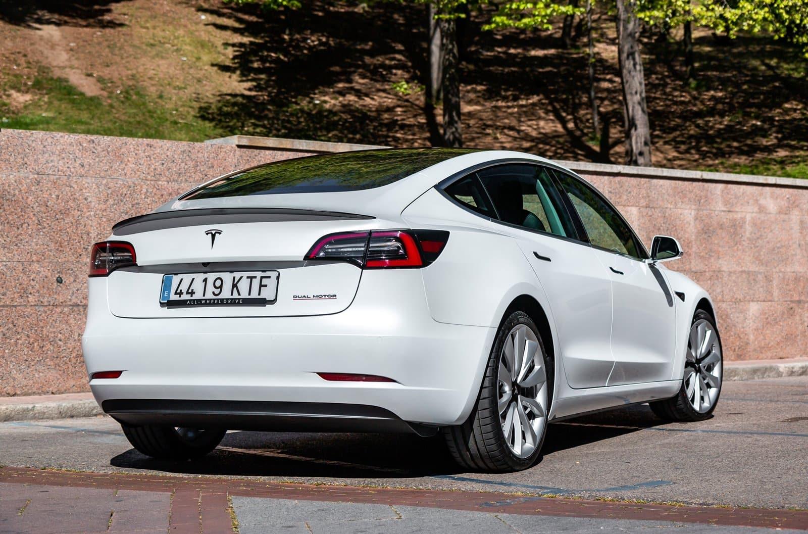 Opinión y prueba Tesla Model 3 AWD Performance 480 CV 2019