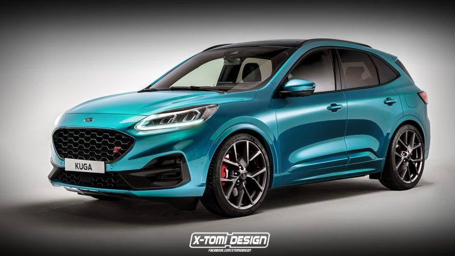 ¿Llegaremos a ver un Ford Kuga ST? Esta propuesta no está nada mal…