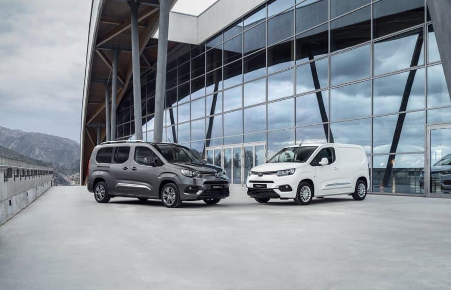 Los Toyota Proace y Proace City tendrán versión eléctrica en 2020 y 2021: Herencia PSA
