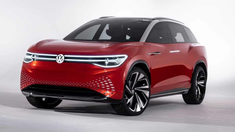 Volkswagen I.D. Roomzz Concept: El anticipo de un SUV eléctrico de siete plazas