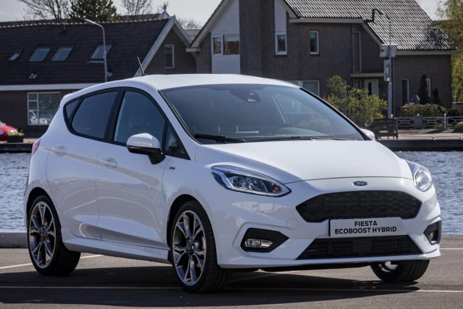 Todos los precios del nuevo Ford Fiesta híbrido