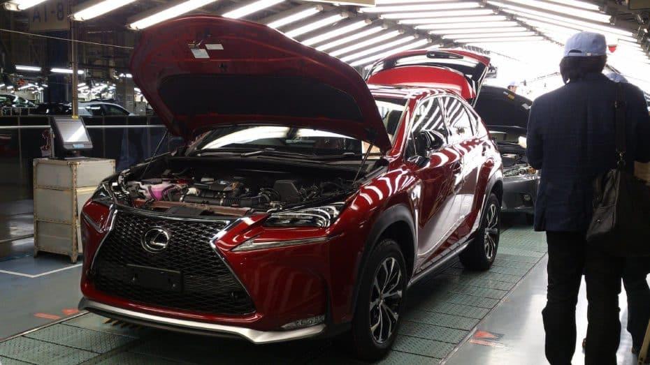 El Lexus NX se producirá también en Canadá