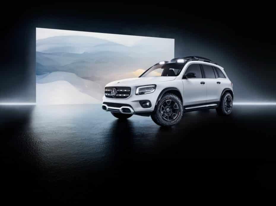 Oficial: Nuevo Mercedes GLB Concept