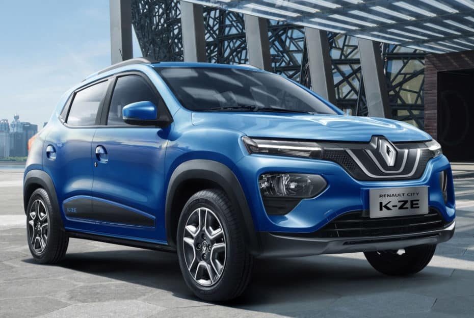 Así es el nuevo Renault City K-ZE: El Kwid eléctrico para China