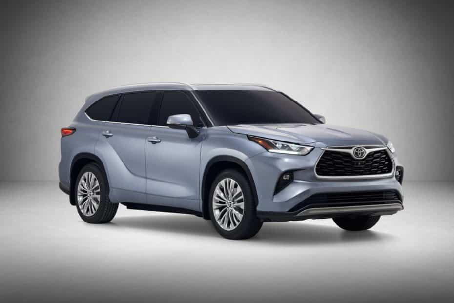 El Toyota Highlander estrena generación