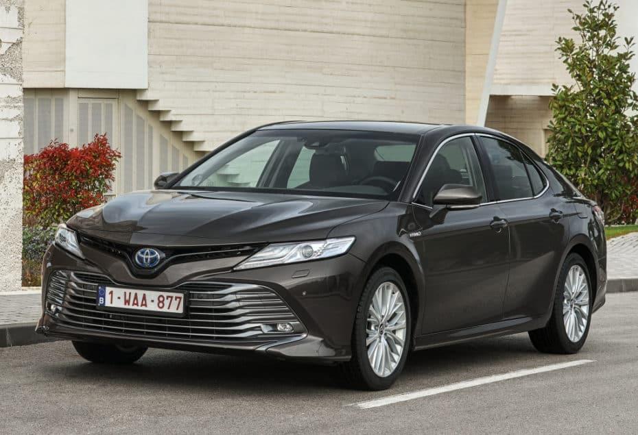 Nuevas imágenes del Toyota Camry Hybrid para Europa