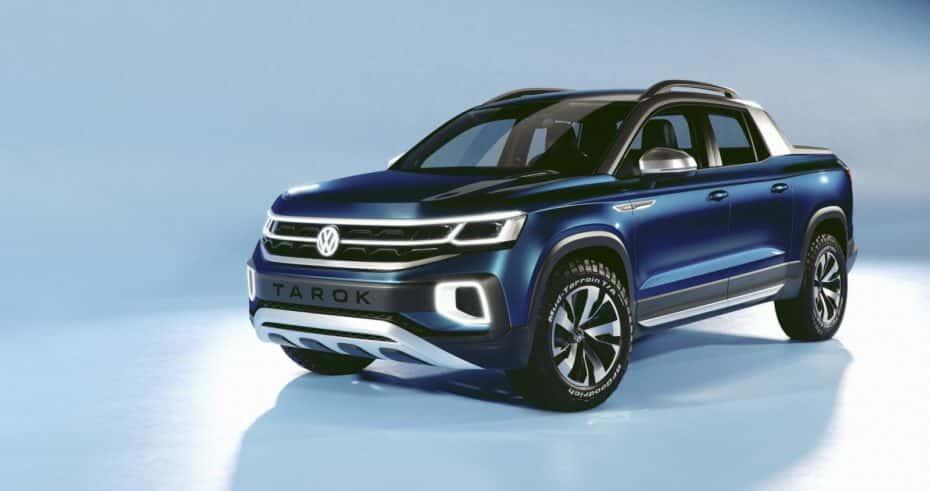 El Volkswagen Tarok PickUp Concept prueba suerte en Estados Unidos