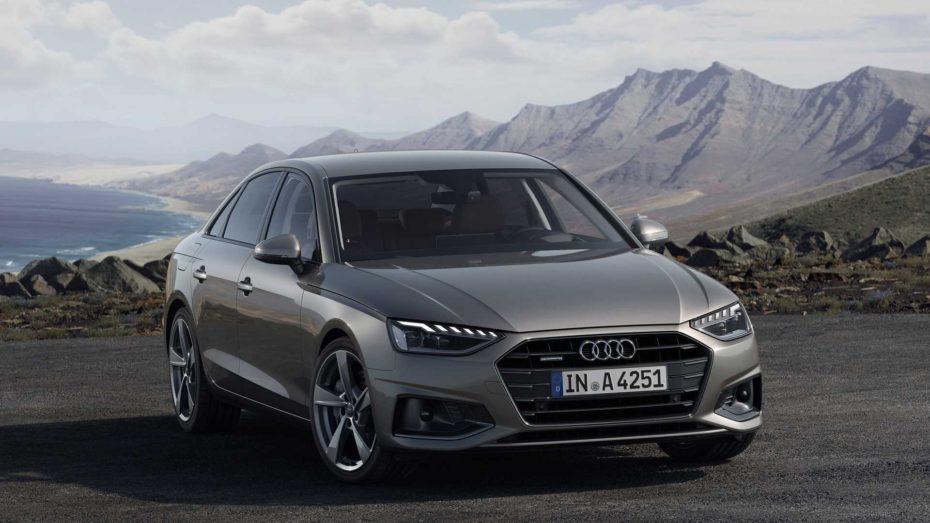 Todos los precios del renovado Audi A4 para España