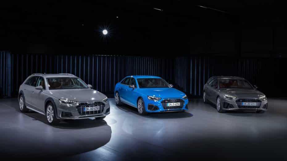 El Audi A4 2019 se renueva: Más dinámico, equipado y con hasta 7 mecánicas