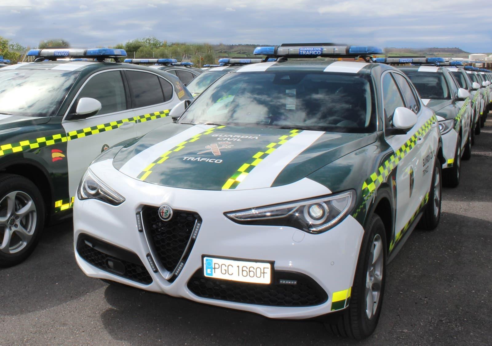 La Guardia Civil compra 97 ejemplares del Alfa Romeo Stelvio
