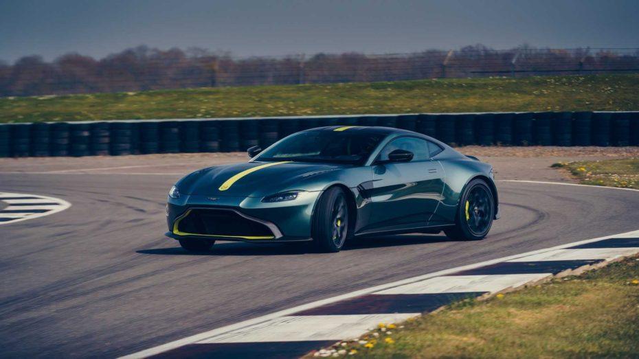 Aston Martin Vantage AMR 2019: Una transmisión manual de 7 velocidades para domar 510 CV