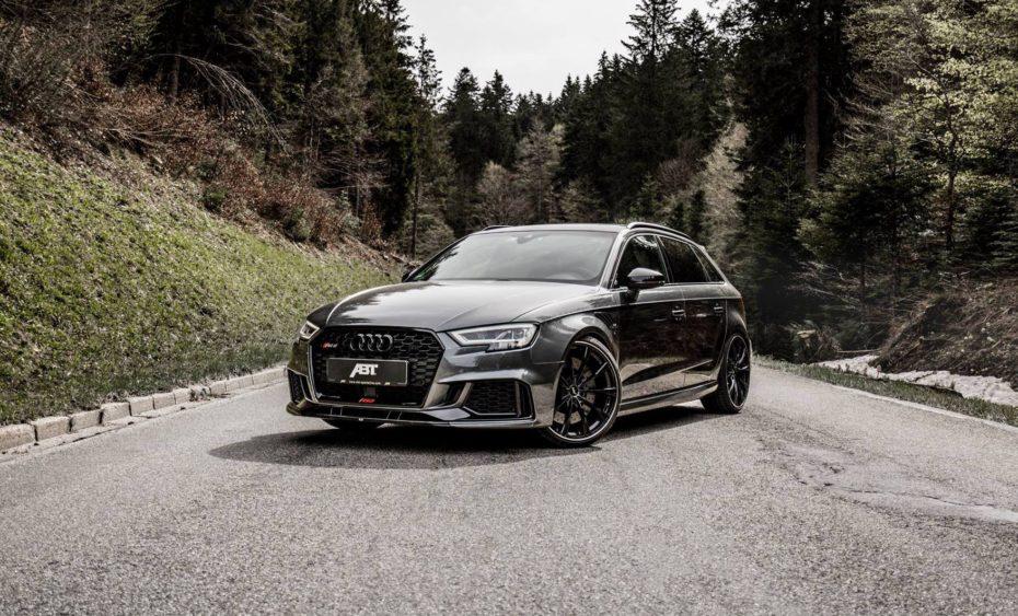 Quién quiere un deportivo teniendo este Audi RS3 Sportback de ABT con 500 CV…