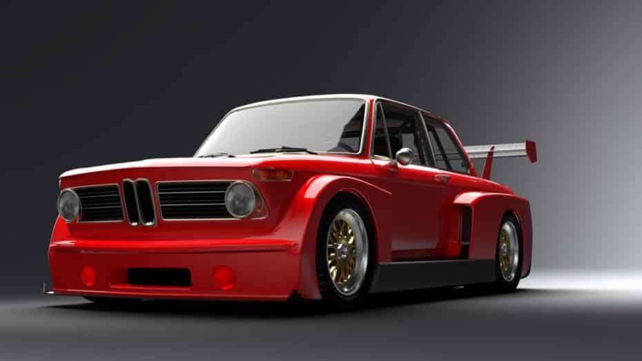 Así es el renacer del BMW 2002tii: Gruppe5 Motorsport le dará vida este verano