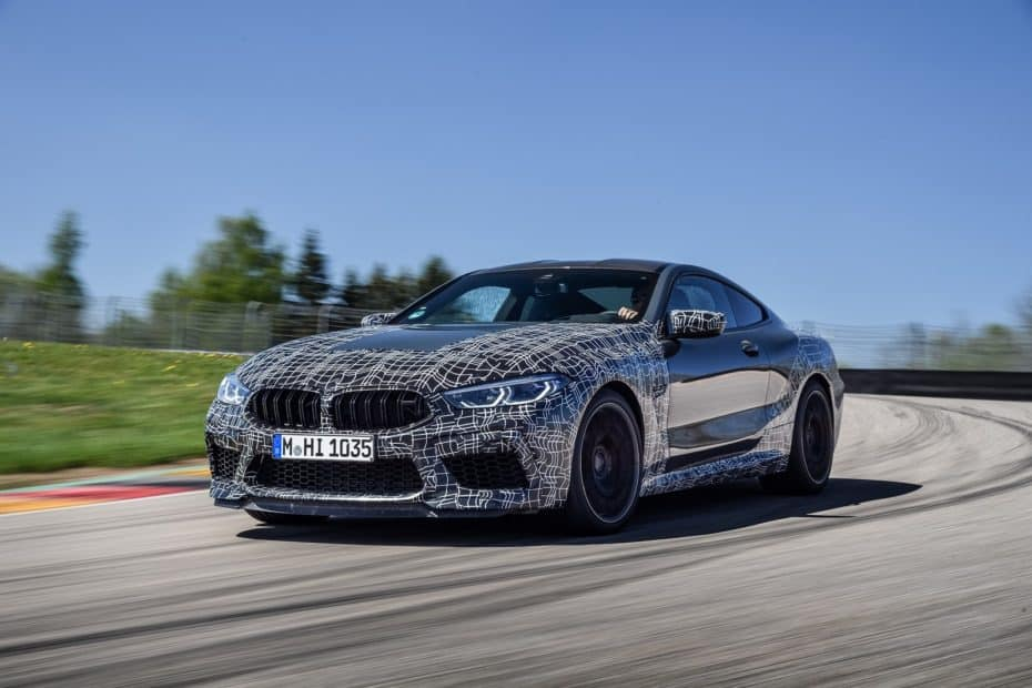 BMW M8 y M8 Cabrio 2019: Nuevo y salvaje modo M que te permite configurar incluso los frenos
