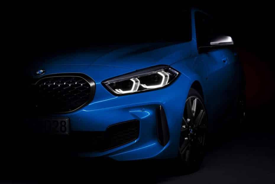 Aquí está el BMW Serie 1 2019 sin camuflaje: Tendrá instrumentación digital y habrá un M135i